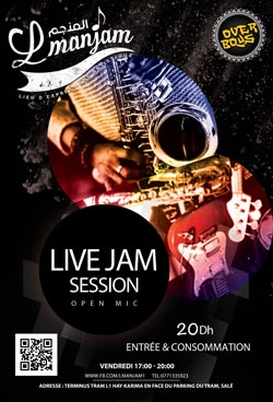 Live Jam Session Lmanjam