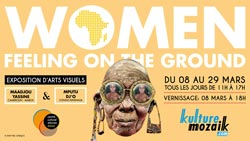 Exposition collective : Women feeling on the ground